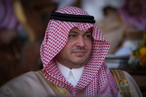 صاحب السمو الملكي الأمير سعود بن سلطان بن سعود آل سعود متابعاً