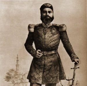 شخصيات في تاريخ الخيل العربية: عباس باشا الأول