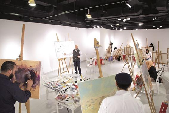 المعمار يقدم: ورشة عمل عن جماليات الحصان العربي بكتارا