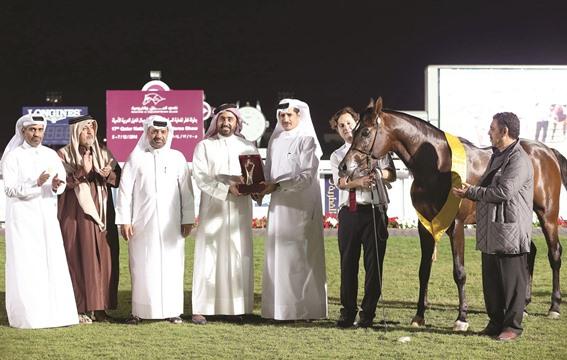 الشقب يسيطر على ختام بطولة قطر لجمال الخيل العربية