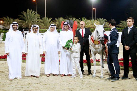 «الزبير» يغرد خارج السرب في مهرجان الشارقة للجواد العربي ويحصد5 ميداليات ملونة بالإنتاج المحلي