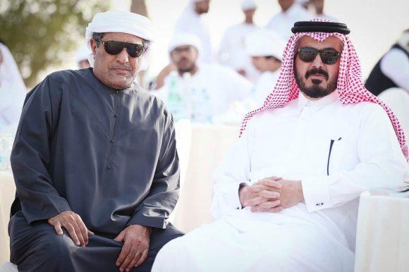 الشيخ عبدالله ال ثاني مع عصام عبدالله