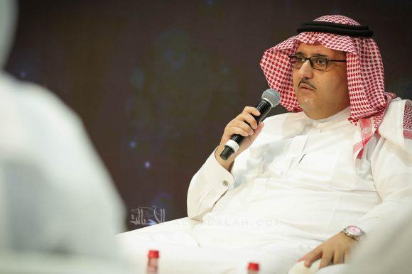 عبد العزيز بن احمد يتحدث خلال المؤتمر