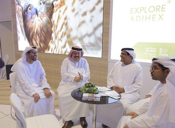 معرض أبوظبي الدولي للصيد والفروسية في قلب الرياض