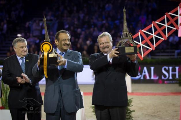 النتائج النهائية لبطولة العالم لجمال الخيل العربية الأصيلة باريس ٢٠١٣