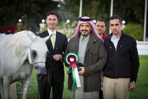 صور مقتطفة من اليوم الثاني لبطولة ابوظبي الدولية لجمال الخيل العربية الأصيلة ٢٠١٤
