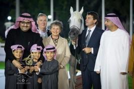 صور مقتطفة من اليوم الختامي لبطولة ابوظبي الدولية لجمال الخيل العربية الأصيلة ٢٠١٤