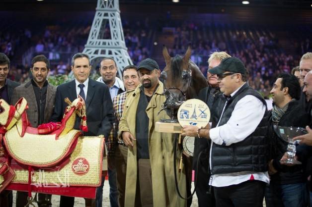 الصقران بفارق النقطة يخطف ذهب المهرات ويسجل أول لقب عالمي لدولة الكويت بباريس ٢٠١٤