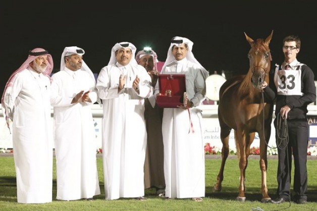 جياد الشقب والناصر والهاجري تحصد جوائز البداية ببطولة قطر الوطنية