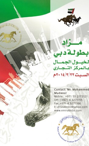 مزاد دبي ٢٠١٤
