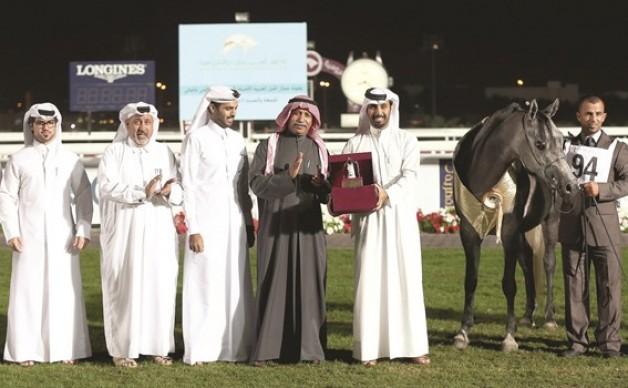 ختام مميز لبطولة قطر لجمال الخيل العربية للأهالي