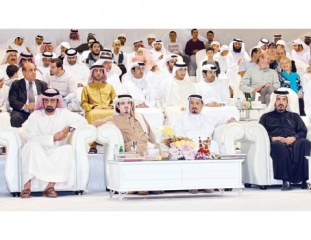 «البداير» و «الزبير» و «المزروعي» و «دبي» و «العميري» أبطال عجمان ٢٠١٥ و «رشيدة الزبير» جواد الإمارات الرائد