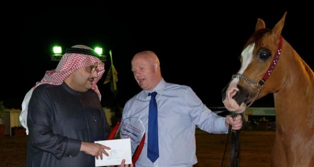 جياد خادم الحرمين الشريفين تتألق ببطولة الخيل سعودية الأصل والمنشأ المنظمة من قبل «الجواد العربي»
