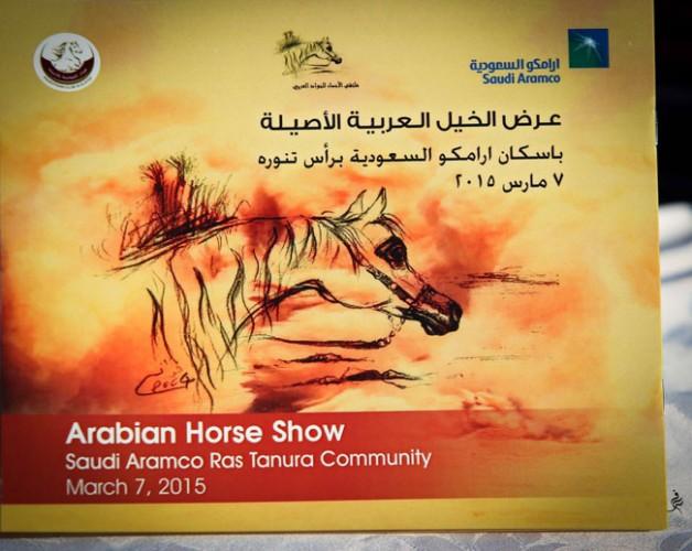 «ارامكو» ترعى عرض جمال الخيل العربية الأصيلة برأس تنورة – صور