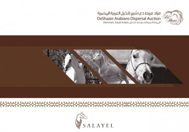 قائمة مزاد سلايل الاول الخاص بخيل مربط دي شيزير للخيل العربية المصرية