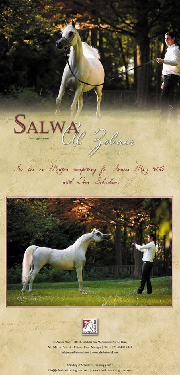 Salwa Al Zobair See her in Menton!