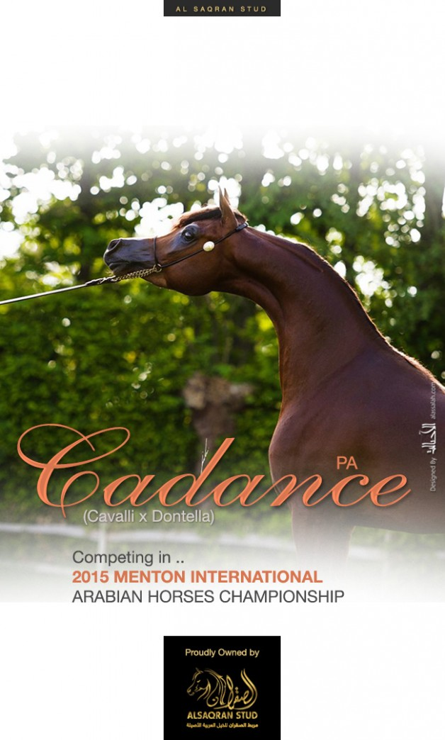 Cadance PA – Competing in MENTON 2015 Championship