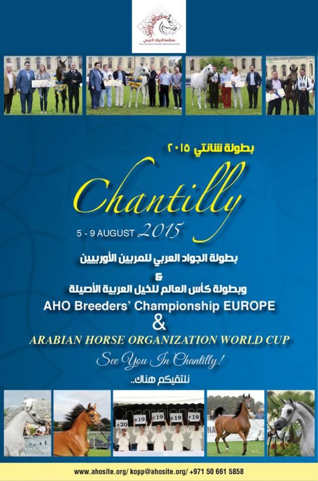 بطولة الجواد العربي للمربين الأوربيين – شانتي ٢٠١٥