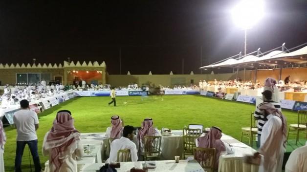 مزاد التنهاة الـ ٤٥ للخيل العربية الأصيلة يحقق ١٫٥ مليون في أمسية رمضانية جميلة