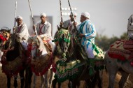 """سروج الـ """"التبوريدة"""" بالمغرب.. زينة الخيل والخيّال"""
