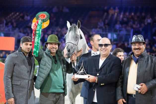 مقتطفات اليوم الثاني من بطولة العالم باريس ٢٠١٥ لجمال الخيل العربية الأصيلة