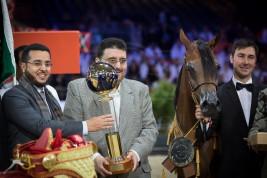 مقتطفات اليوم الختامي من بطولة العالم باريس ٢٠١٥ لجمال الخيل العربية الأصيلة