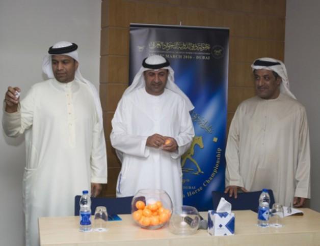 10حكام يقودون بطولة دبي الدولية للجواد العربي ٢٠١٦