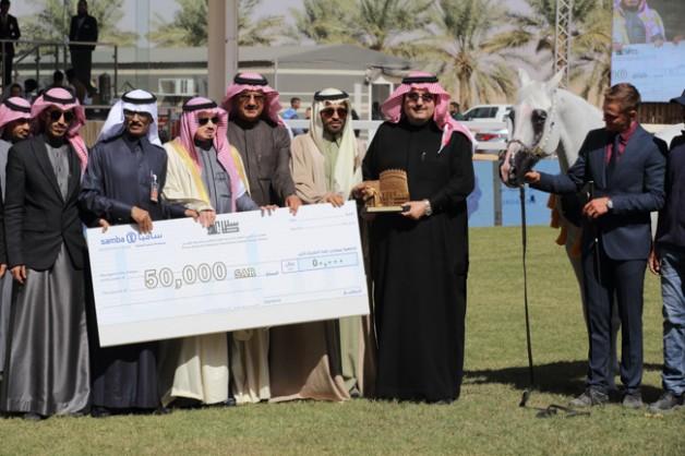 «عذبه» يواصل تفوقة بحصد ألقاب بطولة الخيل سعودية الأصل والمنشأ بمهرجان الأمير سلطان بن عبدالعزيز للجواد العربي