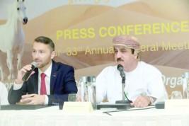 عمان تستعد لاجتماع الجمعية العمومية لمنظمة مسابقات جمال الخيل العربية الأصيلة (ايكاهو )