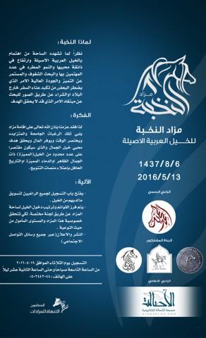 مزاد النخبة للخيل العربية الأصيلة