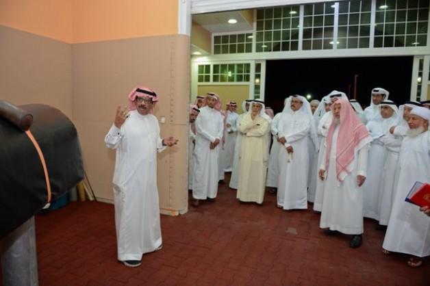 مربط المعود يستقبل رؤساء المحاكم العليا والتمييز بدول الخليج في زيارة خاصة