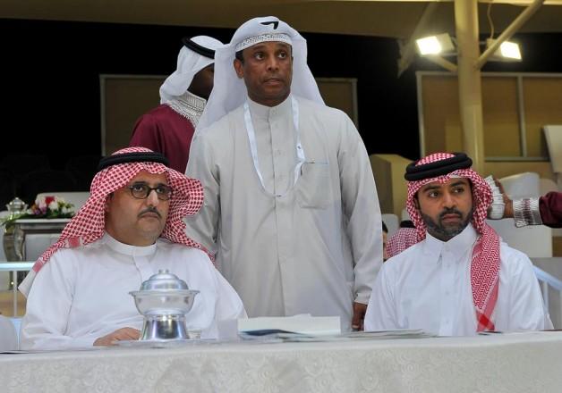رئيس منظمة الجواد العربي يشيد بمستوى الجياد في بطولة (فيصل بن حمد) لجمال الخيل العربية بالبحرين