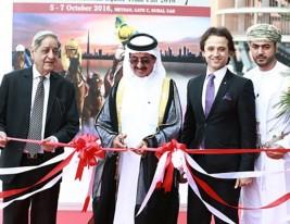 حشر آل مكتوم يفتتح معرض «الفارس» في ميدان