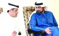 عمار النعيمي يشهد انطلاقة بطولة أبوظبي الدولية لجمال الخيل
