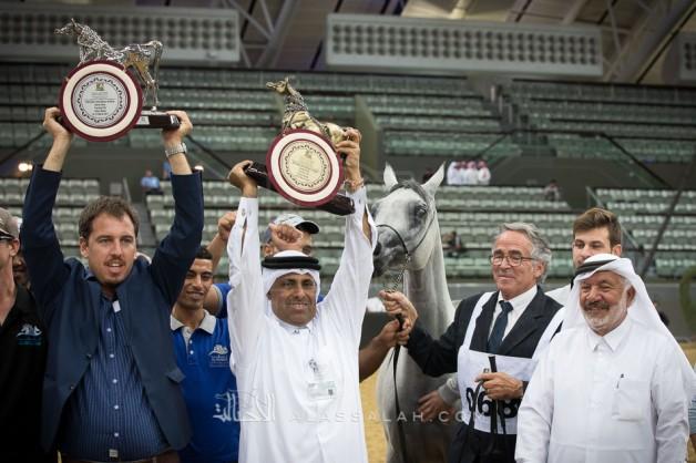 «الشقب» و«الزبير» و«الخشاب» و«المحمدية» أبطال «قطر الدولية» لجمال الخيل العربية الـ26 – النتائج النهائية بالصور