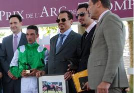 الفرس السعودية «كيس دو غزال» تفوز في مهرجان قطر الدولي