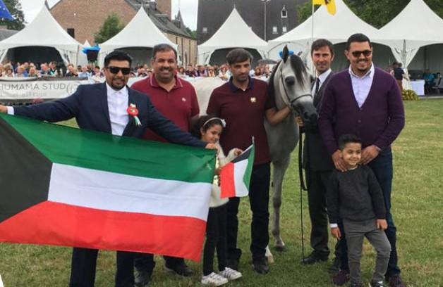 «الشقب» و«عذبه» و«الخشاب» و«عجمان» أبطال (الران 2017) لجمال الخيل العربية ببلجيكا – النتائج النهائية