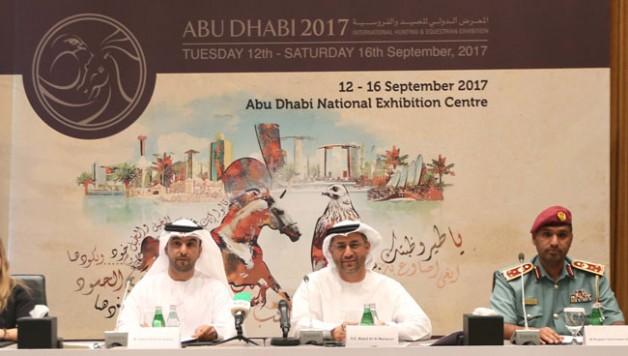 650 شركة من 40 دولة تشارك في الدورة 15 لمعرض أبوظبي الدولي للصيد والفروسية