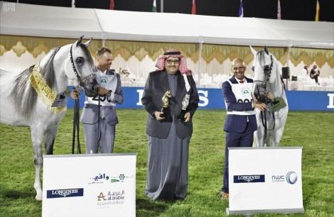 اختتام بطولة الخيل سعودية الأصل والمنشأ بمركز الملك عبدالعزيز للخيل العربية الأصيلة بديراب