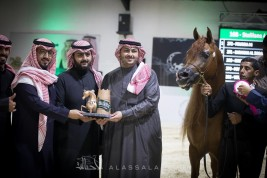 صور مقتطفة من اليوم الثاني من بطولة الرياض ٢٠١٨ لجمال الخيل العربية الأصيلة