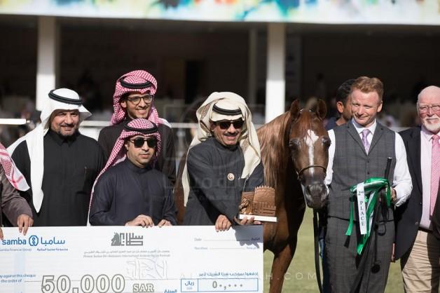 صور مقتطفة من اليوم الثاني لمهرجان الأمير سلطان العالمي ٢٠١٨ للجواد العربي