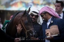 صور مقتطفة من اليوم الختامي لمهرجان الأمير سلطان العالمي ٢٠١٨ للجواد العربي