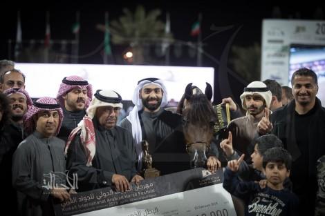 النتائج النهائية بالصور لبطولة الكويت الدولية السابعة 2018 لجمال الخيل العربية الأصيلة