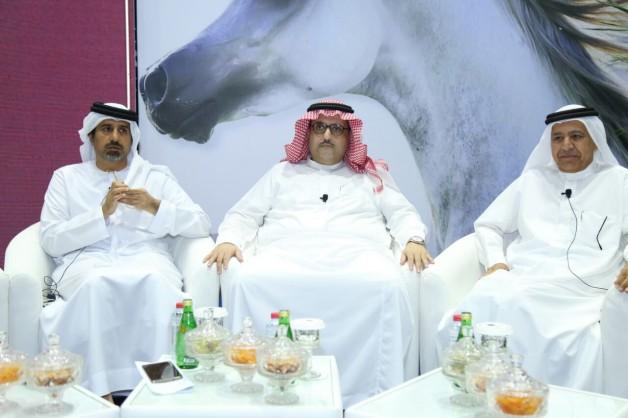 عبدالعزيز بن أحمد يتحدث بمؤتمردبي الدولي للفروسية: لابد من توعية الملاك بالاهتمام بالنوع وليس الكم