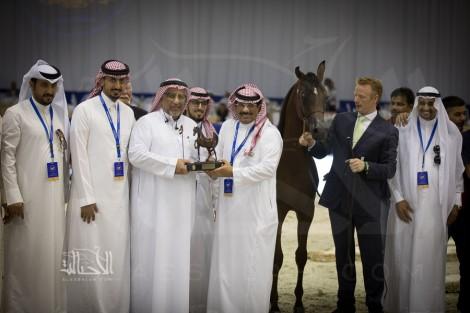 صور مقتطفة من اليوم الثاني لبطولة دبي الدولية للجواد العربي ٢٠١٨
