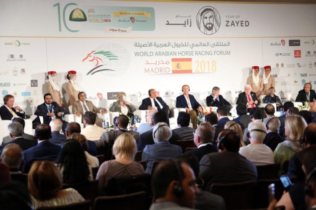 نقل الأجنة يتصدر جلسات تربية الخيول من الملتقى العالمي لخيول السباق العربية الأصيلة