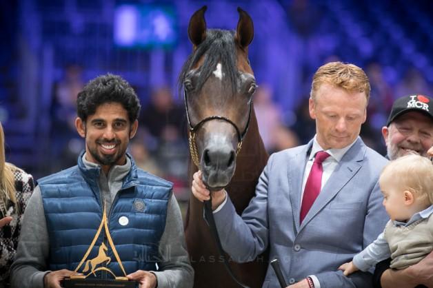 «عجمان» يواصل تألقه في بطولة العالم باريس ٢٠١٨ و«ادميرال» يحقق له أعلى درجة سجلت في البطولة