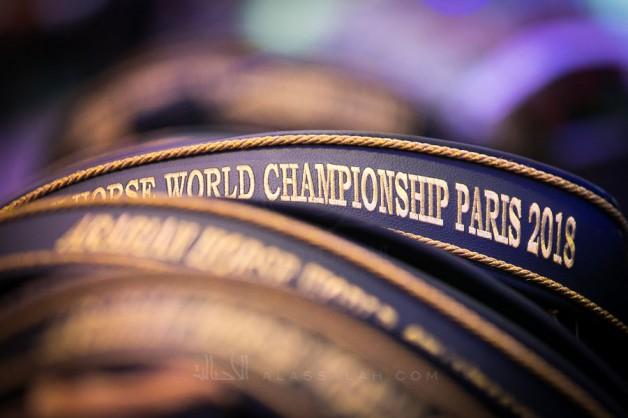 صور مقتطفة من اليوم الختامي لبطولة العالم باريس ٢٠١٨ لجمال الخيل العربية الأصيلة