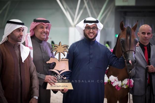 ثنائية ذهبية يفتتح بها مربط السيد القاب ٢٠١٩ في بطولة الرياض