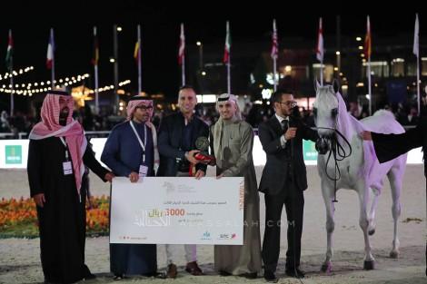 صور مقتطفة من اليوم الأول لبطولة كأس الخليج للخيل المصرية 2019